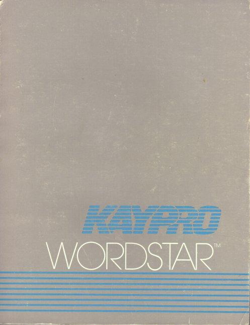 Kaypro Manuals
