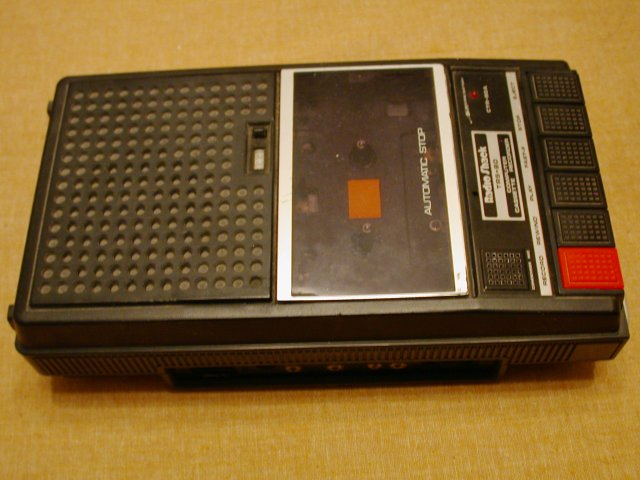 Computer Cassette Recorder model CTR-80A, used with my original ...