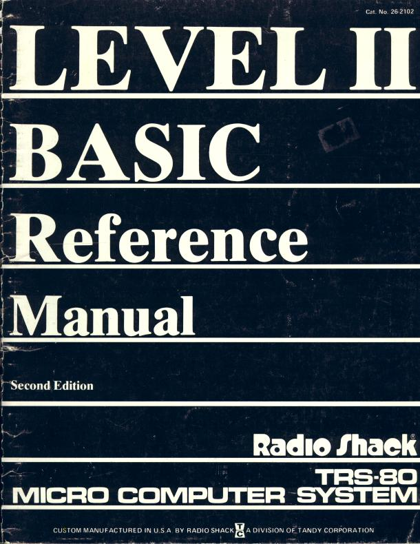 Advanced TRS-80 Level II BASIC: a learning guide